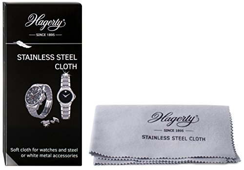 Hagerty Stainless Steel Cleaning Cloth For Watches And Accessories A116312