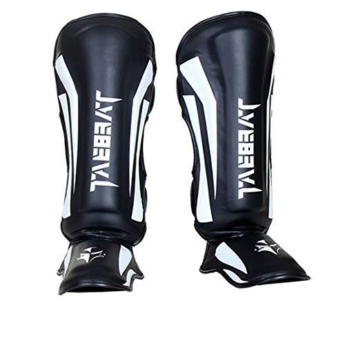 PLID Schienbeinschoner - Für Muay Thai Schienbeinschützer,MMA,Kampfsport,Kickbox-Beinschützer,Boxen,Kickboxen Schienbeinschoner für Kinder,Erwachsene und Jugend Fußball