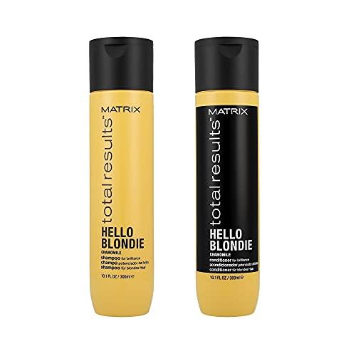 Matrice Risultati Totali Ciao Blondie Shampoo (300Ml) E Condizionatore (300Ml)