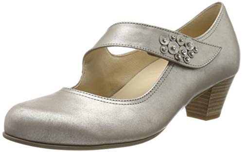 Gabor Damen Comfort Basic_26.147. Pumps, Beige (Muschel 65), 43 EU (9 UK)