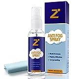 6. Zentouch New Anti Fog Spray for All Non-Anti Reflective Lenses, Including Eyewear Lenses, Glasses, Snorkel Masks, Swim Goggles, Ski Masks, VR Glasses (2oz)