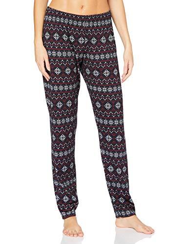 CALIDA Damen Favourites Holidays Pyjamaunterteil, Dark Lapis Blue, L