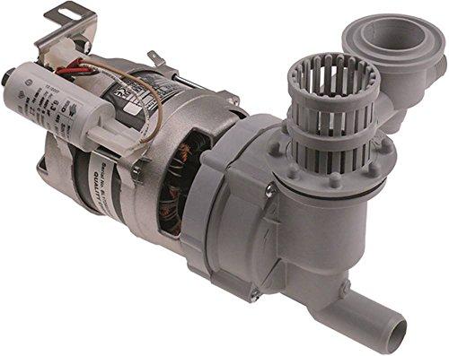LGB Pumpe W210SX mit Kondensator 6,3µF 0,24kW/0,33PS passend für Hobart für Spülmaschine 230V Länge 230mm 50Hz, Colged