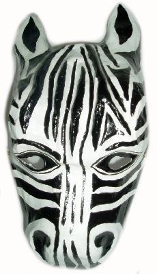 Zebra masque pour enfant masque enfant animaux de safari