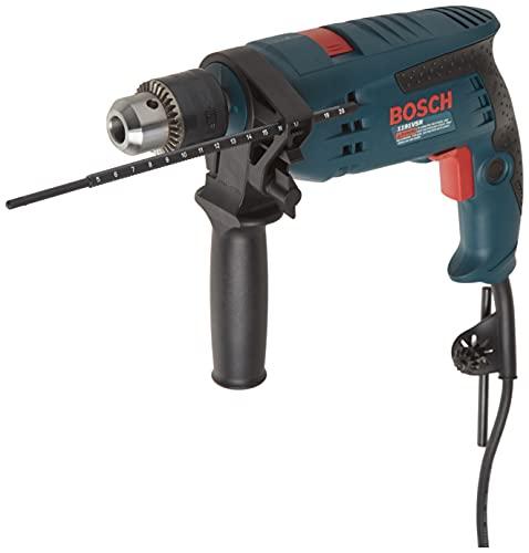 Bosch 1191VSRK 120-Volt 1/2-Inch Single-Speed Hammer Drill,Blue