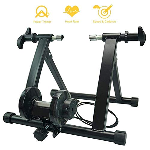 MEESock Rodillo de Entrenamiento para Bicicleta estática con Dispositivo magnético para Ajustar...