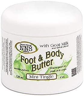 GOAT MILK FOOT & BODY BUTTER   Mint Tingle (4 Oz)