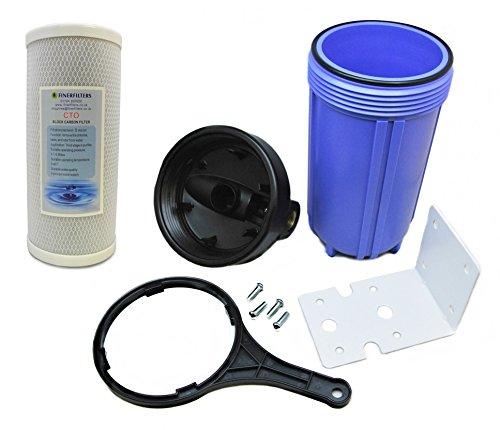 Finerfilters Ganzhaus-Wasserfiltersystem Reiniger, gefiltertes Wasser für das ganze Haus mit 5 Mikron Kohleblock-Filter