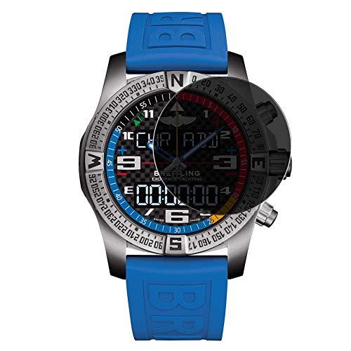 Vaxson Anti Spy Schutzfolie, kompatibel mit Breitling Exospace B55 smartwatch Smart Watch, Displayschutzfolie Bildschirmschutz Privatsphäre Schützen [nicht Panzerglas]