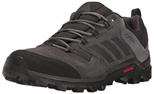 adidas Outdoor Men's Caprock Gore-Tex Hiking Shoe, Black/Utility Black/Granite, 11 M US