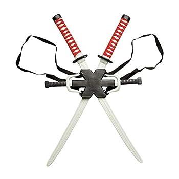 Rubie s mens Classic Deadpool Weapon Set,Black/Red,Weapon Kit