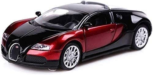 Adorably Sports Miami Mall Popularity Car Model Metal Roadster Veyro Toy1:32 Pull Back