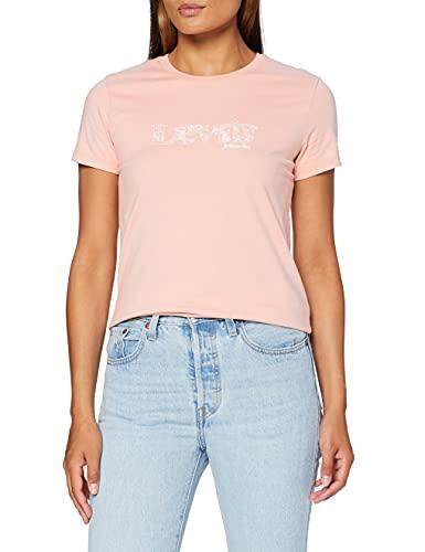 Levi's The tee Camiseta, Dream State Modern Vintage Logo Evening Sand, L...