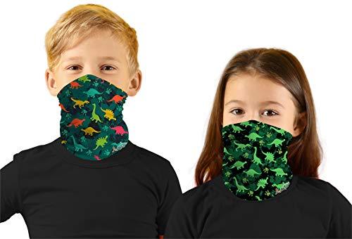 Little Boys Face Ski Mask Hiking Bandanas Sport Neck Gaiter UPF 50+ Sun Mask Scarf for Toddler Girl