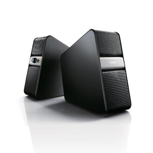 Yamaha NX-B55 Aktiv Lautsprecher mit Bluetooth für TV und PC titanfarben