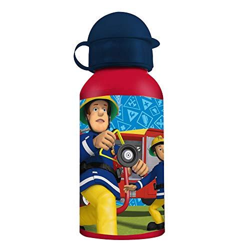 Sam, el bombero Botella de Aluminio Fireman 400 ml   Niños Cantimplora