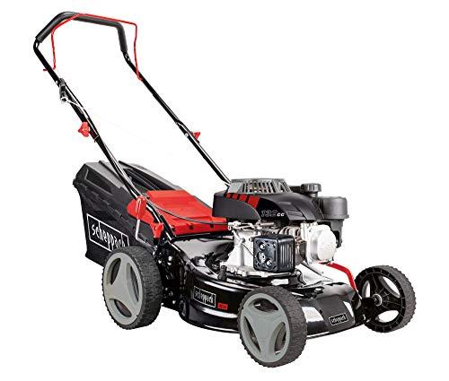 scheppach Rasenmäher RM420 3in1 - 3.4PS | Schnittbreite 420mm | 45L | Schnitthöhenverstellung 25 - 75 mm | inkl. 0,6 Liter Ölflasche