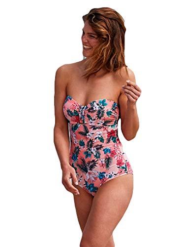 YSABEL MORA - Bañador Flores Tropical Mujer