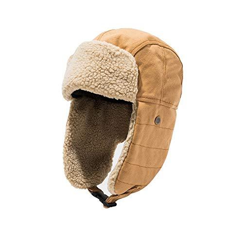 Clape Bombermütze | Pilotenmütze | Fliegermütze | Pelzmütze | warme Wintermütze mit Ohrenklappen
