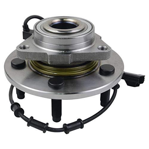 Radlager Nabe vorne kompatibel mit Ram 1500 Standard 02-05 Front Axle 52070323AA GLOSSY AUTO PARTS