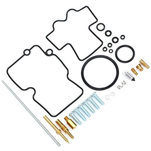 Mothinessto Práctico kit de reparación de carburador, con gran juego de reparación de carburador de mano de obra para Yamaha YZ450F 2007-2009