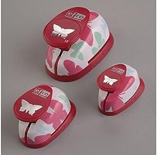 Designerski zestaw foremek do wykrawania z motywem Schemtshol, kolor różowy