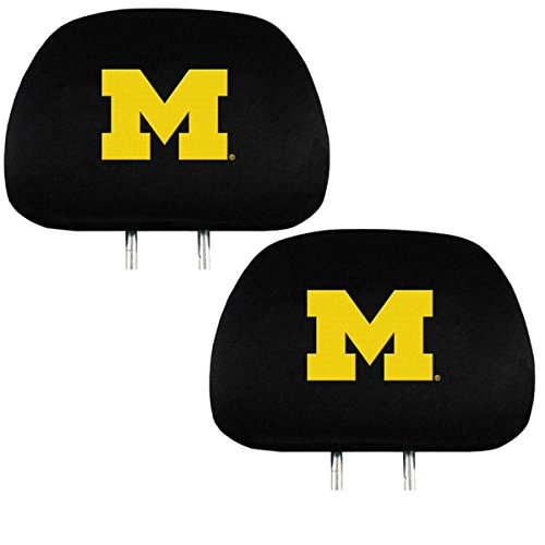 Headrest Cover NCAA Fan Shop Authentic Headrest Cover, Michigan Wolverines
