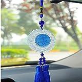 leoye MirPendaye - Colgante de seguridad para coche, espejo retrovisor con doble cara, para colgar en la parte posterior, color