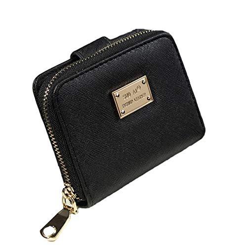 Dodom Portafogli firmati portafogli donna di marca famosi Portafogli donna con pochette piccola Porta carte di credito borsa piccola donna carteira, AS SHOW