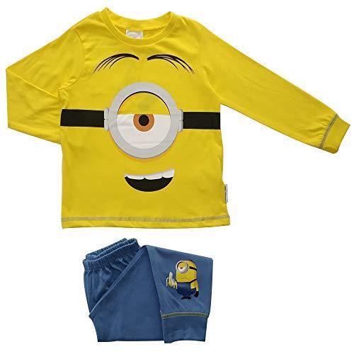 Minions Face Jungen Schlafanzug 5-6 Jahre
