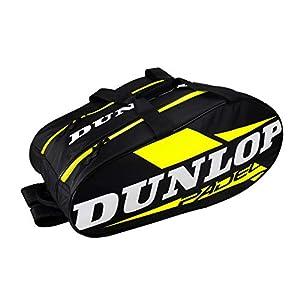 41BhbhHQ0xL. SS300  - Dunlop Paletero Play, Adultos Unisex, Multicolor, Talla Unica