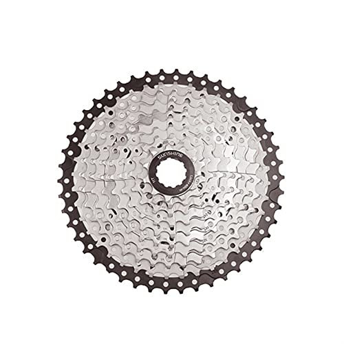 QXYOGO Cassettes Y PiñOnes Vuelo del Casete 8/9/10 Velocidad Freewheel MTB Bike Bike Bicycle 25/28 / 32/36/40/42/46 / 50T PUNTAR Rueda Libre (Color : 9S 11 50T)