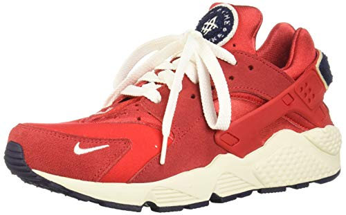 Nike Herren Air Huarache Run Premium Laufschuhe, Mehrfarbig (University Red/Sail/Blackened Blue 602), 42 EU