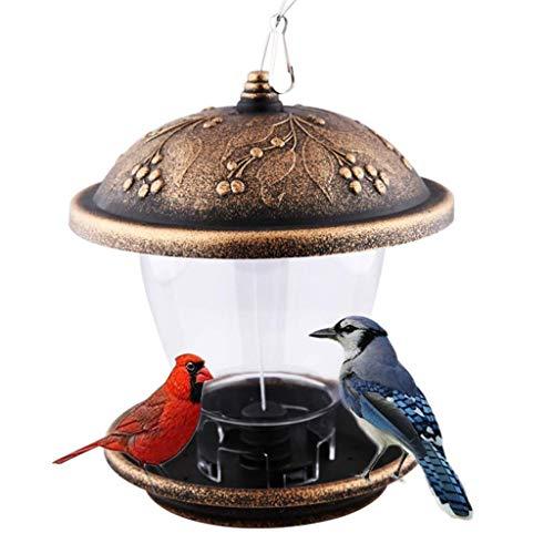 YLJYJ 1pc Hanging Bird Feeder Birds Feeding Tool Outdoor Bird Cage Hanging Feeding Container Bird Water Bowl Water Feeder for Yard(bird)