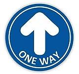 Flechas Adhesivos para Suelo,TAOPE 12 Pack One Way...