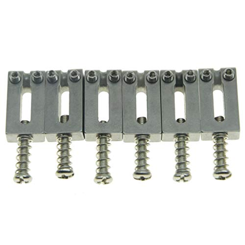 Stainless Vintage Strat String Height Screws ToneShapers Kit