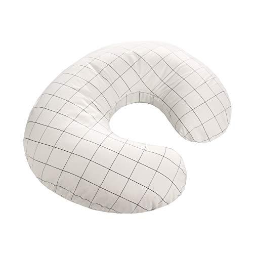 LAT Nursing Pillow Cover,100% Natural Cotton Breastfeeding Pillow...