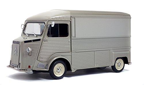 Solido Citroën Type Hy Gris Métal - Maqueta de Coche Escala, 1:18, Color Gris