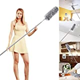 Microfiber Duster with Telescoping Extension Pole (30 to 100 inches) with Scratch-Resistant Cover