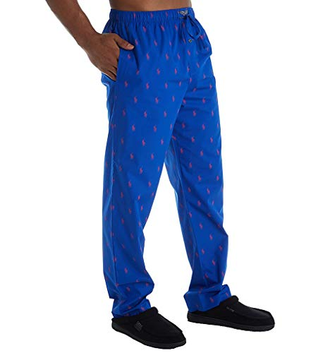 Price comparison product image Polo Ralph Lauren All Over Pony Sleep Pants Sapphire Star / Rl2000 Red All Over Pony Print LG