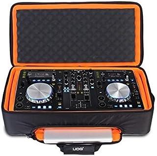 UDG U9104BL/OR - Funda para mesa de mezclas pioneer dDJ s1/t1 (con correas de mochila), color naranja y negro