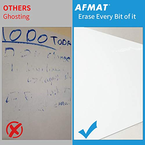 Large White Board for Wall, Dry Erase Board W/O Adhesive, 6x4 FT Dry Erase Paper w/ 3 White Board Markers, No Ghost Dry Erase Surface for Wall, Winkle & Bubble Free for Textured & Non-Textured Walls Photo #2