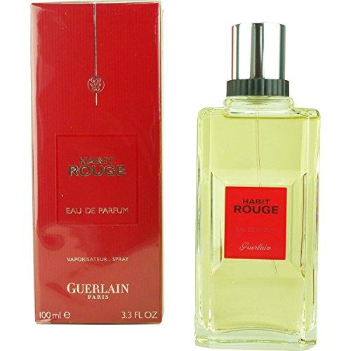 Habit Rouge von Guerlain Eau de Parfum Spray 100 ml