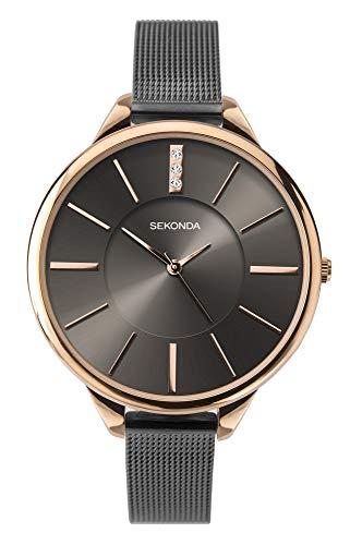 Seksy Watches Orologio Analogico Quarzo Donna con Cinturino in Pelle 2579.37
