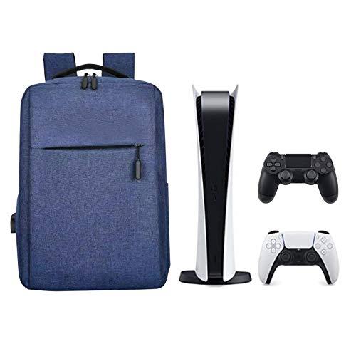 A/A Aufbewahrungstasche Für PS5 Reisetasche - Ps-4 Ps5 Bag to Travel Ru-cksack - Mit Verstellbarem Schultergurt Und USB-Ladegerät - Stoßfest Gegen Kratzer