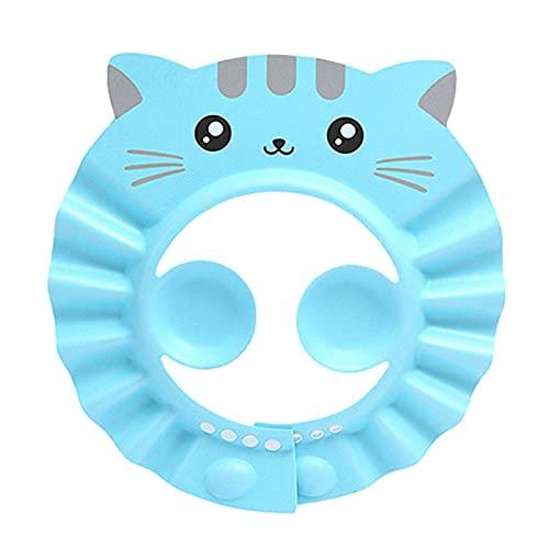Baby Shower Cap - Cappello da bagno regolabile per lavare il cappello di protezione per capelli Protezione per il bagno per bambini Bambini per bambini Bambini per bambini