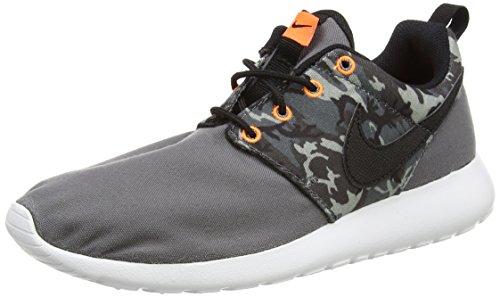 Nike Schuhe Roshe One Print (GS) Dark Grey-Black-Cool Grey-Anthracite (677782-004) 38 Grau