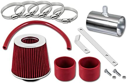 Velocity Concepts Translated Red shipfree Short Ram Air 09-11 Kit Fo + FILTER Intake