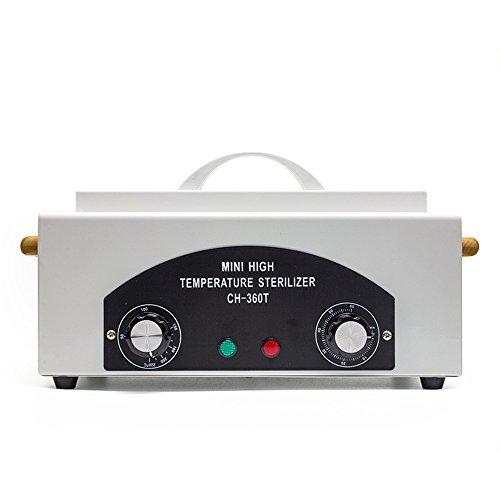 Vétérinaire stérilisateur autoclave, boîte à hautes températures professionnelle de stérilisateur de clou de stérilisateur de chaleur sèche pour des outils en métal de clou de beauté