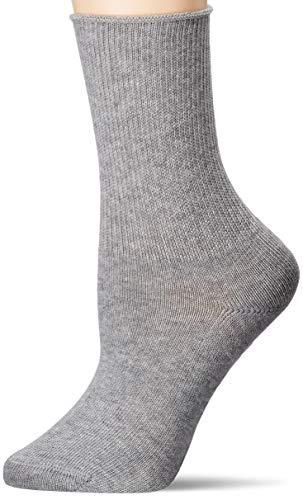 Hudson Damen Relax Soft Socken, Silber, 39/42
